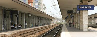 Raggiungere lo studio legale Lucchesi in treno da fuori Brescia